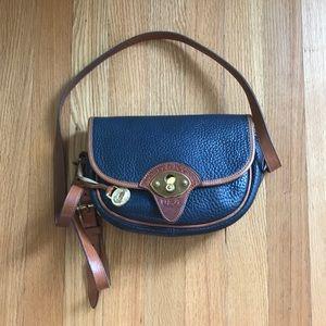 Vintage Dooney and Bourke Leather Crossbody Bag